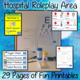 Hospital Dramatic Play Area   -  29 Fun Printables
