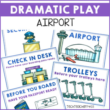 Dramatic Role Play Airport