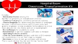 Hospital Room Transformation w/Math and ELA Activities*Editable!*