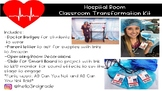 Hospital Room Transformation Decor *Editable!*