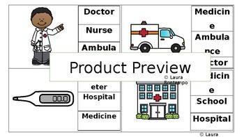 Hospital Task Cards