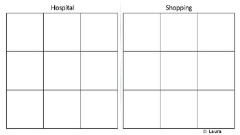 Hospital and Shopping Sorting Maps
