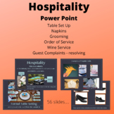 Hospitality - Customer Service - Front of the House
