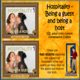 Hospitality ESL adult conversation bundle