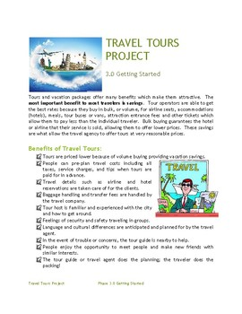 Hospitality Tourism Travel Tours Project: Marketing the Tour