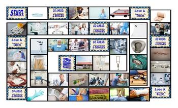 Hospitals Pharmacies & Drugs Board Game
