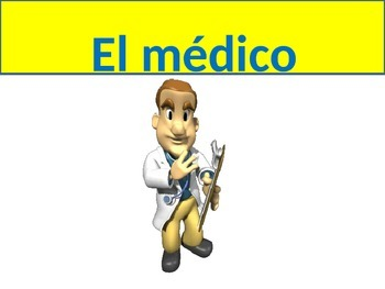 Hospital Visit Vocabulary (Realidades Ch 5B)