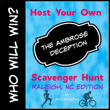 """Host Your Own """"The Ambrose Deception"""" Scavenenger Hunt: Raleigh, NC Edition"""