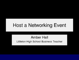 Host a Networking Event to Develop Professionalism & Soft Skills