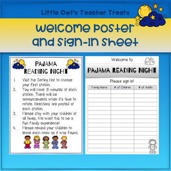 Host a Pajama Reading Night!
