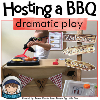 Hosting a Barbecue or Cookout Dramatic Play