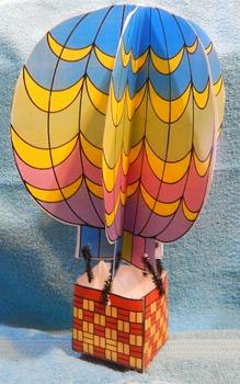 Spring Craft Activities: Hot Air Balloon Craft