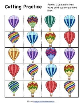 Hot Air Balloon Activity Pack