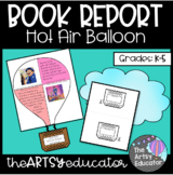 Hot Air Balloon Book Report Spring Craftivity!