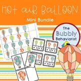 Hot Air Balloon Bundle: Identical Matching, Same + Different Cards, Patterns