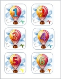 Hot Air Balloon Classroom Decor - PDF