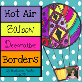 Hot Air Balloon Classroom Decorative Borders (Inspirational)