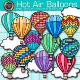Hot Air Balloon Clip Art: Summer Graphics {Photo Clipz}