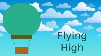 Hot Air Balloon Clip Chart