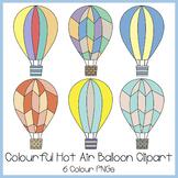 Hot Air Balloon Clipart