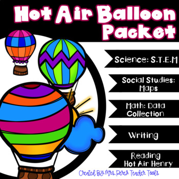 Hot Air Balloon Connect to Content Goodies