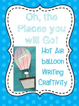 Hot Air Balloon Craftivity! FREEEEBIE!