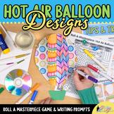 Hot Air Balloon Game | Art Sub Plans and Bulletin Board Id