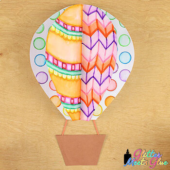 Hot Air Balloon Game | Art Sub Plans and Bulletin Board Ideas for September