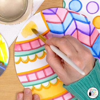 Hot Air Balloon Game | Art Sub Plans & Writing Prompts | Bulletin Board Ideas