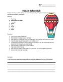 Hot Air Balloon Lab