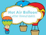 Hot Air Balloon Letter Sound Match