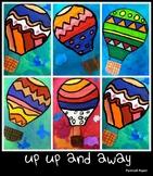 Hot Air Balloon Line Lesson