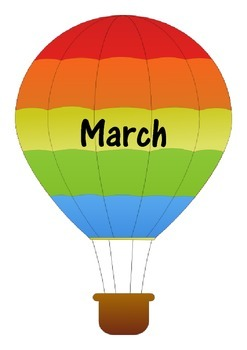 Hot Air Balloon Months