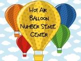 Hot Air Balloon Number Sense Center