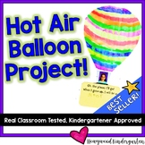 Spring Hot Air Balloon Project!  Perfect for Spring , March , End of the Year !