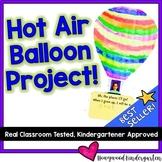 Hot Air Balloon Craft Art & Writing Project ...  much loved BEST SELLER!