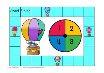 Hot Air Balloon R Controlled Vowel Race