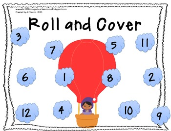 Hot Air Balloon Roll and Color/Cover
