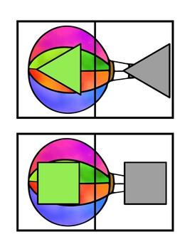 Hot Air Balloon Shape Match