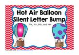 Hot Air Balloon Silent Letter Bump FREEBIE