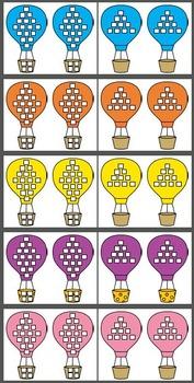 Hot Air Balloon Sticker Charts