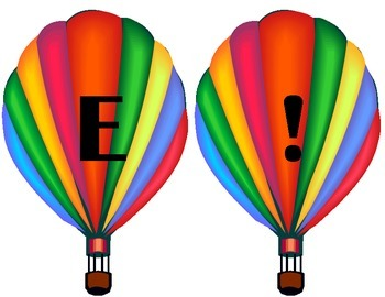 Hot Air Balloon Welcome Sign