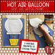 Hot Air Balloon Writing Prompts to use with Oh the Places