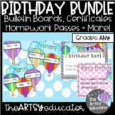 Hot Air Balloon/Kite Themed Birthday Bundle!