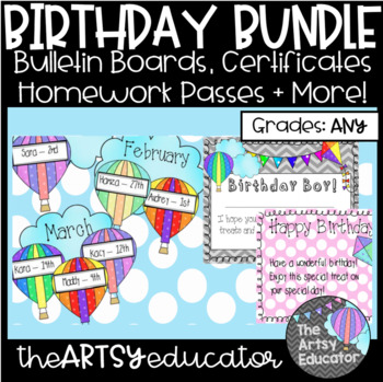 Hot Air Balloon/Kite Themed Birthday Bundle!