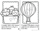 Hot Air Balloons: Art: Mini Book: Experiment