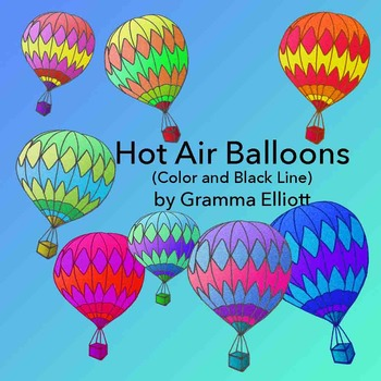 Hot Air Balloons Clip Art