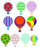 Clip Art Hot Air Balloons
