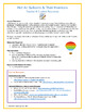 Hot Air Balloons & Their Inventors -  WebQuest / Internet Scavenger Hunt