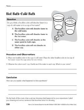 Hot Bath-Cold Bath